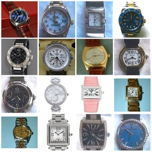 Watches stolen in raids in the Home Counties.