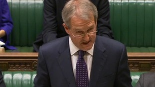 Former cabinet minister Owen Paterson breaks back after falling from horse