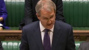 Owen Paterson said he was he was lucky not to have suffered more serious injury.