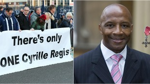 Thousands gather to say farewell to football trailblazer Cyrille Regis