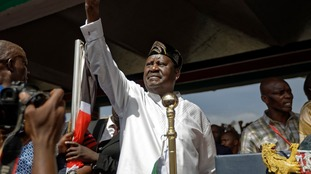 Kenya: Opposition rival declares himself 'people's president'