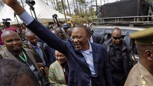 Uhuru Kenyatta was re-elected Kenyan president last October.