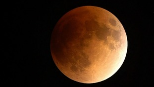 What is a 'super blue blood moon'?