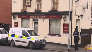 The Red Cow pub in Folkestone