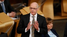 Scotland's Deputy First Minister John Swinney