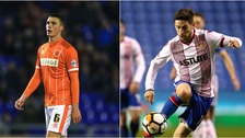 Lloyd Jones has moved to Luton Town (left), while Tom Pett (right) has left Stevenage.