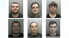 Sean Cleaver, Craig Metcalfe, Braden Moreton, Gary McCaffrey, Kelly Scott, Stuart Baker