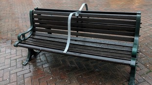 Professor Green condemns 'anti-homeless' benches