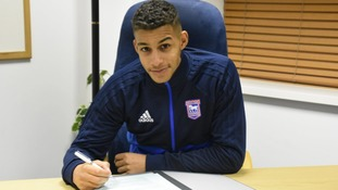 Barry Cotter has completed his move to Ipswich Town.