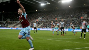 Burnley strike late to rescue a point at Newcastle