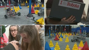 Top young minds compete to build best robot