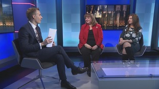 Paul Brand and guests (l-r):  Sunderland Labour MP Sharon Hodgson, and Copeland Conservative Trudy Harrison.