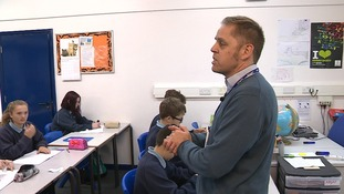 Students at Parkside Academy in Cambridge are learning about attitudes towards women