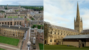Cambridge and Norwich were named among the least affordable cities.