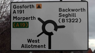 Drivers confused by road sign blunder