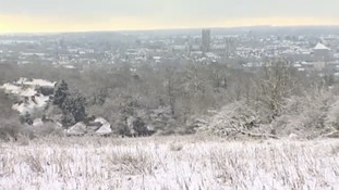 Canterbury in snow