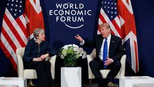 Theresa May has responded to Donald Trump's claim he would have been a tougher negotiator on Brexit.