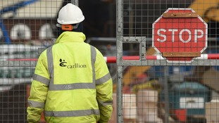 Some 377 staff will be made redundant as a result of the collapse of Carillion.