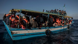 At least 90 migrants feared dead after boat capsizes off Libya