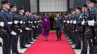 The Queen visited RAF Marham