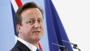 David Cameron at the end of the EU leaders summit in Brussels in October, last year.