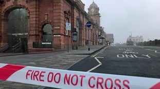 Woman arrested over Nottingham railway station fire released under investigation