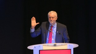 Corbyn praises new activists amid claims Momentum members 'forced out Labour council leader'