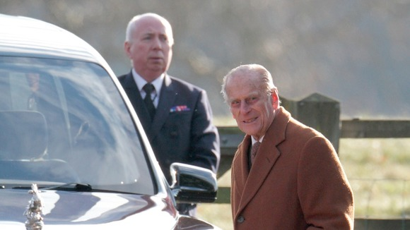 The Duke of Edinburgh sees the funny side