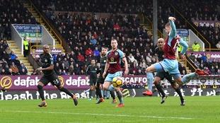 Premier League: Burnley hold Man City in gutsy 1-1 draw