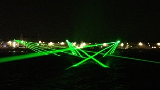 Laser display, Weymouth