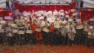People's Postcode lottery winners