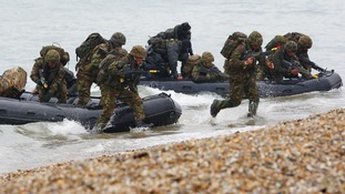 Cuts to the Royal Marines could put the UK at risk.