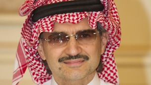 Saudi Prince Al-Waleed bin Talal