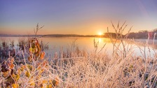 Winter sunshine.  Widespread frost  MATT ALLEN