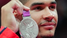 Louis Smith won Silver and Bronze at the London Olympics