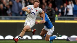 Simmonds stars as England win 6 Nations opener in Rome