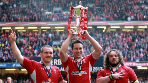 Gethin Jenkins, Ryan Jones, Adam Jones
