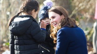 The Duchess said adults must give children 'the strength to face their futures and thrive'.