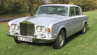 Lot 331 at auctioneers Coys, Freddie Mercury's Silver Shadow Rolls-Royce