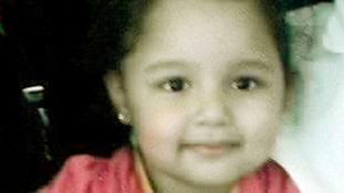 Atiya Anjum-Wilkinson, now six, was found in Pakistan in December
