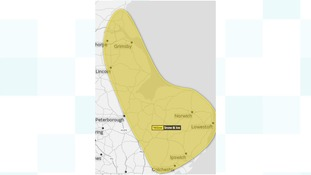 Met Office yellow warning of Snow and ice