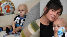 Frankie Sherwood passed away after a brave battle with the childhood cancer neuroblastoma.