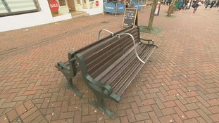 Council vows to remove 'anti-homeless' bars from benches after public backlash