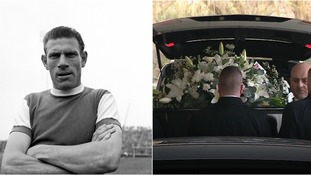 Ted Phillips' funeral took place in Colchester on Monday.