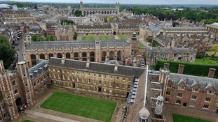 Cambridge is the first university to reveal high numbers of reports.