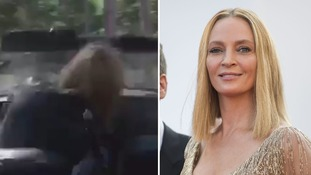 Uma Thurman releases footage of stunt car crash on set of Kill Bill