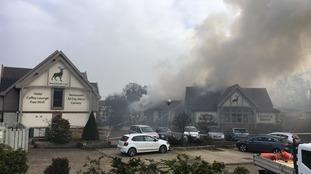 Fire devastates Norfolk Hotel and restaurant