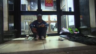Calls for rough sleepers in Torquay to be banned from shopfronts