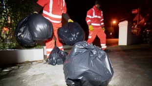 Guernsey black bin bags to be collected once a fortnight