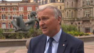 Council leader Ian Ward has signed a joint letter with council's Conservative and Liberal Democrat leaders.
